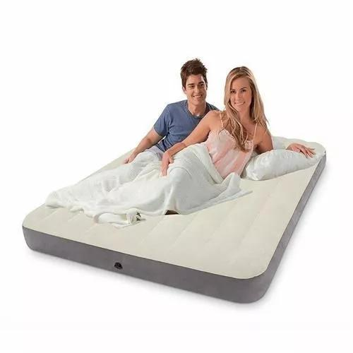 Colchão cama inflável casal queen size intex
