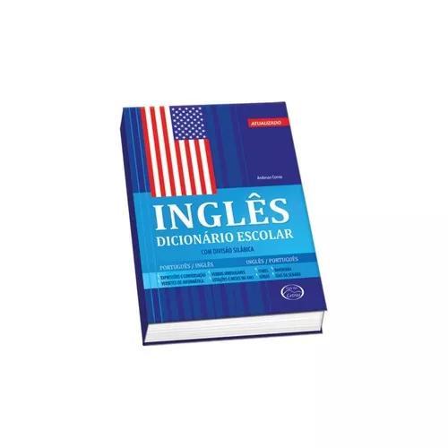 Dicionario inglês/ português escolar 480 paginas