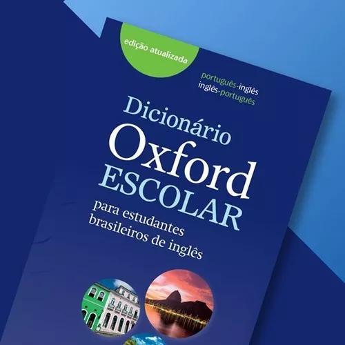 Dicionario portugues ingles escolar oxford with access cod