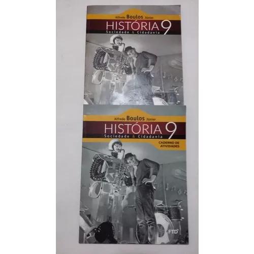 História sociedade & cidadania - 9º ano caderno de ativid.
