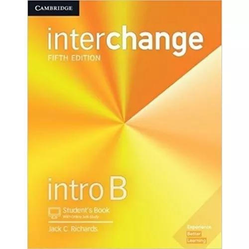 Interchange intro b sb with online self-study - 5th ed