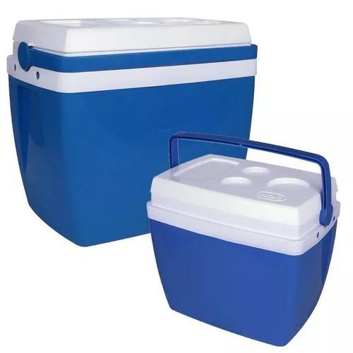 Kit caixa térmica 34 litros + caixa térmica 18 litros mor