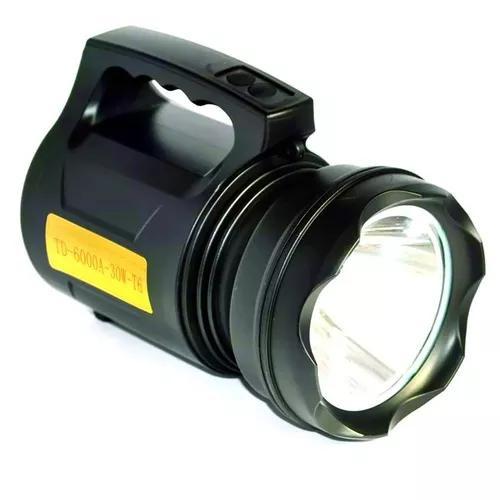 Lanterna farolete holofote tático led t6 luz potente
