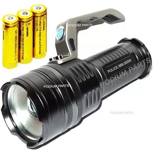 Lanterna holofote led 5540000 lumens potente melhor que x900