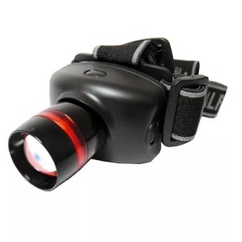Lanterna tática de cabeça. led cree zoom 500w foco