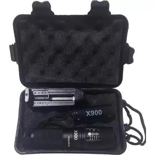 Lanterna tática shadowhank militar x900 original na caixa