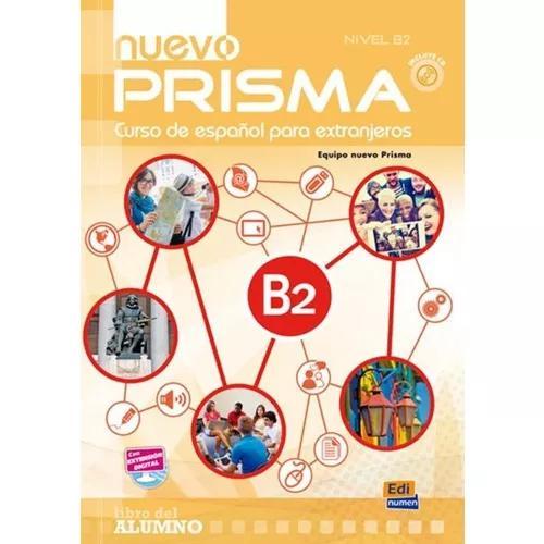 Nuevo prisma b2 - libro del alumno + cd