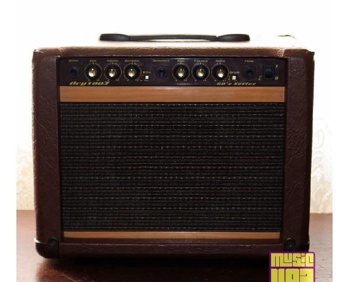 Cubo amplificador de violão 30w rms oneal ocg 100f 60s