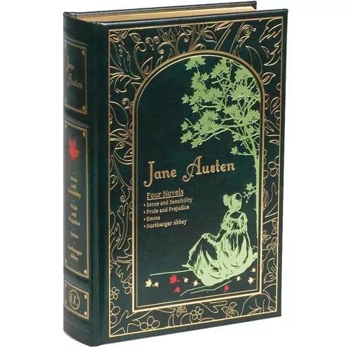 Jane austen four novels leather-bound