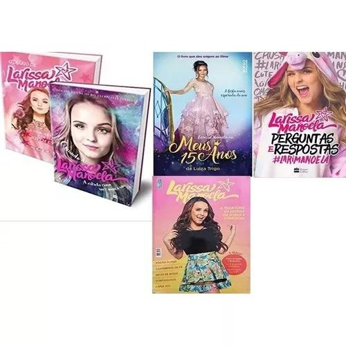 405a65889554b Kit larissa manoela (5 livros) em Brasil   ANÚNCIO Abril