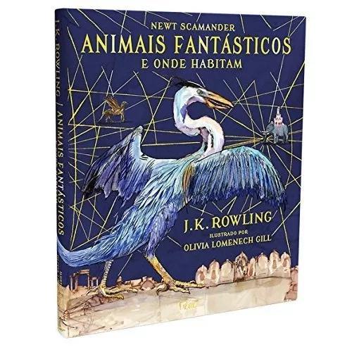 Livro animais fantásticos e onde habitam