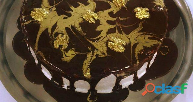 Curso> bolo gelado simples sofisticado e no pote.