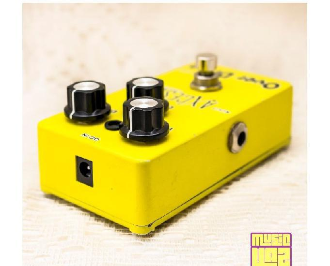 Pedal guitarra axcess overdrive od-102 giannini