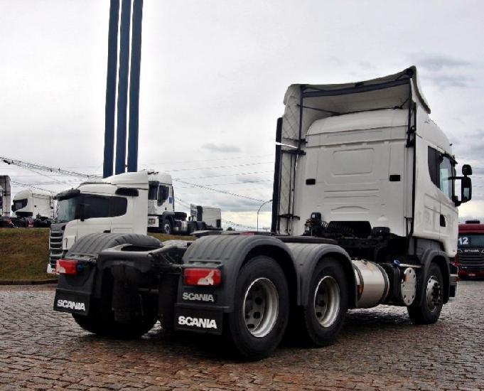 Scania r 440 6x2 highline teto alto opticruiser ano 2017