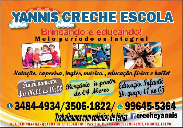 Yannis creche escola