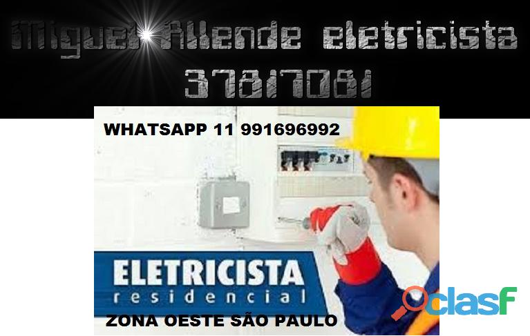 Eletricista residencial raposo tavares