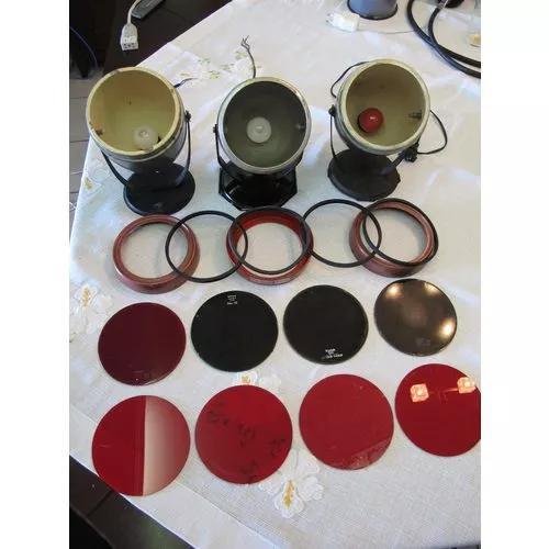 Conjunto de lanternas/filtros de segurança kodak