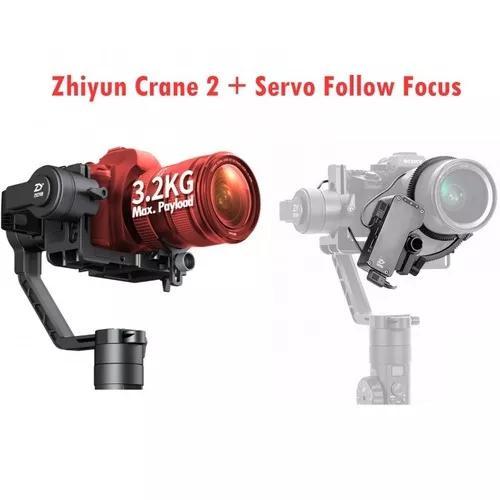 Guimbal zhiyun crane 2 c/ 3 eixos camêras até 3.2 kg