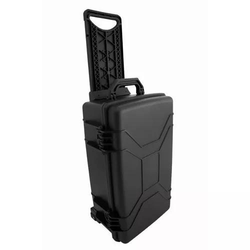 Hard case maleta c rodinhas mp-0060 fotografia camera rodas