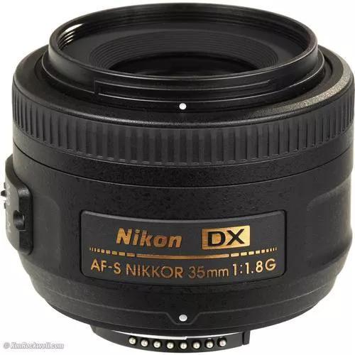Lente nikon af-s dx nikkor 35mm f/1.8g dsrl autofoco+parasol