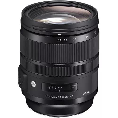Lente sigma art 24-70mm f/2.8 dg os hsm p/ canon | garantia