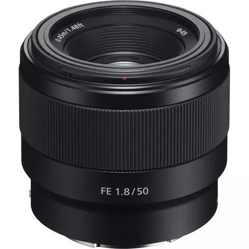 Lente sony fe 50mm f/1.8 (sel50f18f) garantia s