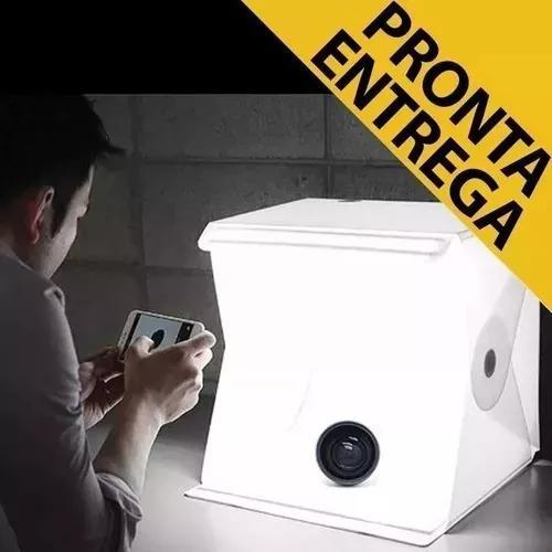 Mini Estúdio Sitll Fotografia De Produtos Foto Box Led Pop