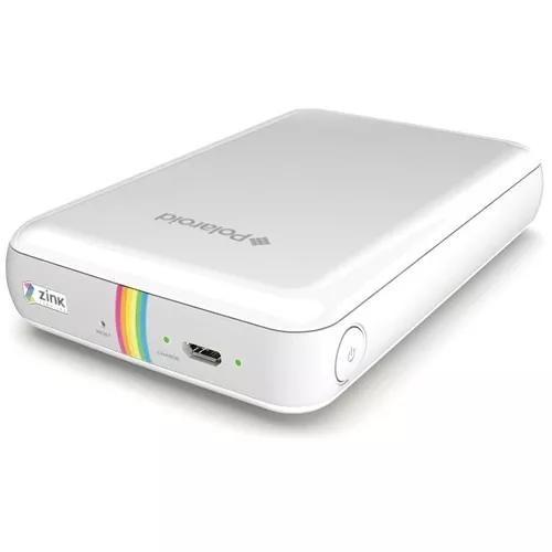 Mini impressora portátil polaroid zip mobile photo - branca