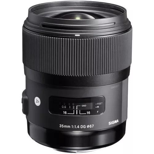 Sigma 35mm f/1.4 dg hsm série art auto canon pronta-entrega
