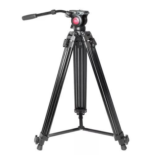 Tripé profissional video urban-750 cabeça hidráulica +nf