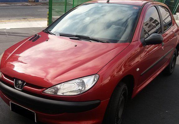 Peugeot 206 hatch sensation 1.0 16v 5 portas 04/05 - r$8500