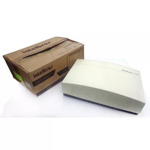 Pabx telefone intelbras modelo corp 8000 6 linhas 24 ramais
