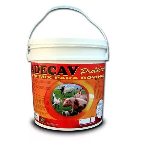 Adecav probiotico - balde 10kg 179,00 frete grátis + brinde