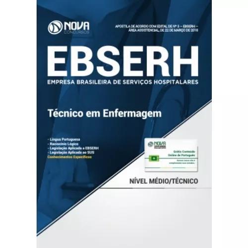 Apostila ebserh 2018 - técnico
