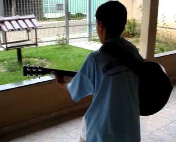 Aulas de violão na grande cidade de são paulo