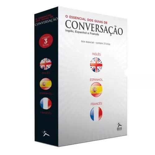 Box - o essencial dos guias de conversação - 3 volumes