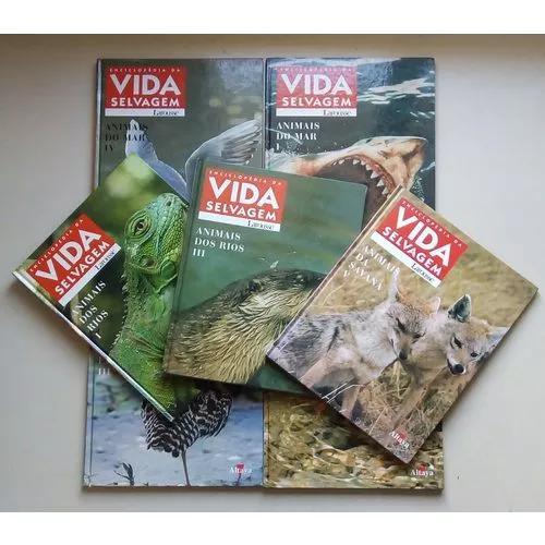 Coleção livro enciclopédia da vida selvag