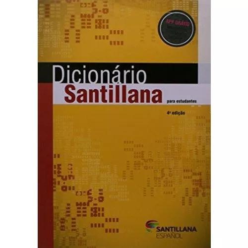 Dicionário santillana para estudantes - espanhol/português