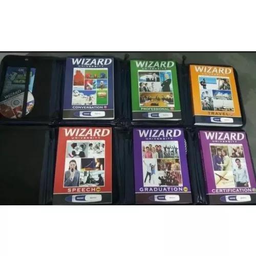 Livro wizard do w2 até o w12 completo cabridge e assimil