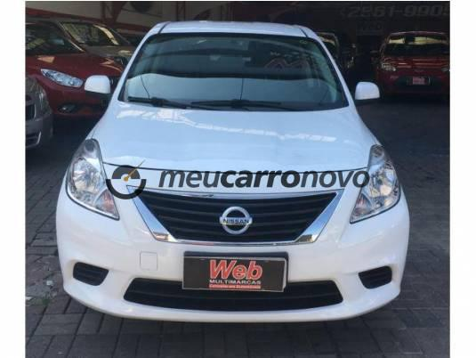 Nissan versa sv 1.6 16v flex fuel 4p mec. 2013/2014