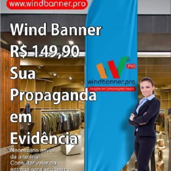 Wind banner - rio de janeiro