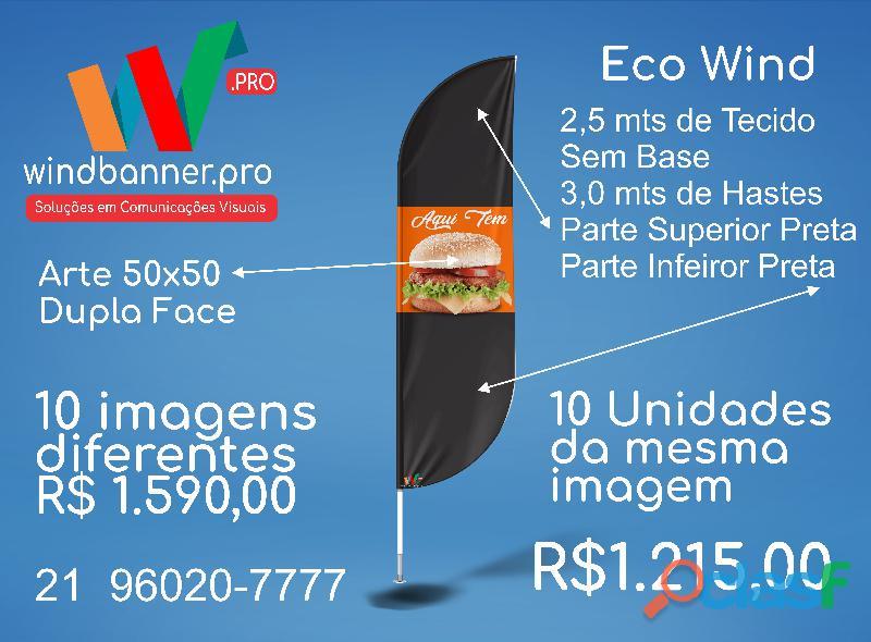 Wind banner rj | fabricamos em 24horas | 21 960207777
