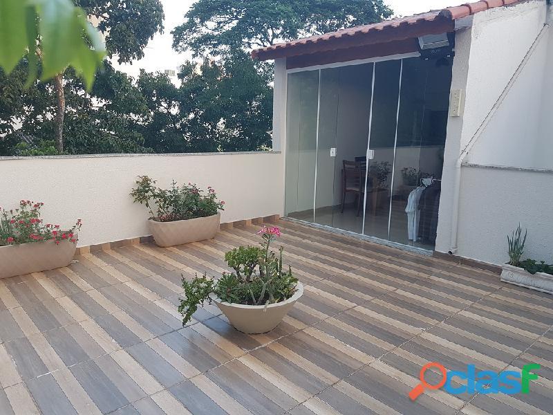 Cobertura sem condomínio 110 m² em santo andré   vila valparaíso.