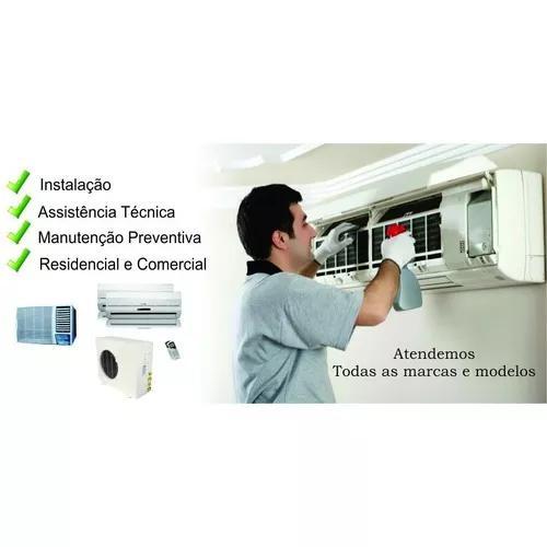 Ar condicionado instalação e manutenção.