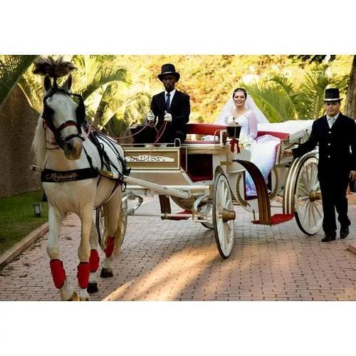 Carruagens para casamentos, debutantes e eventos