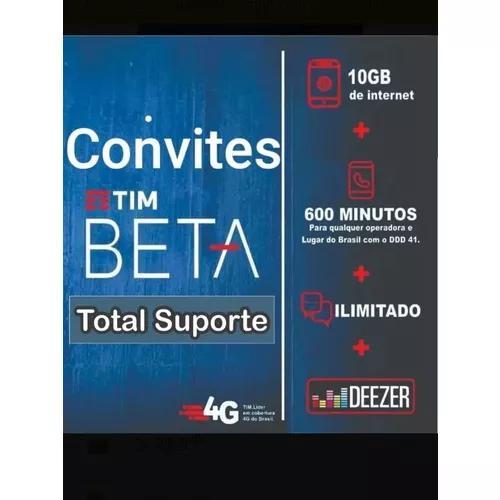 Convite tim beta !