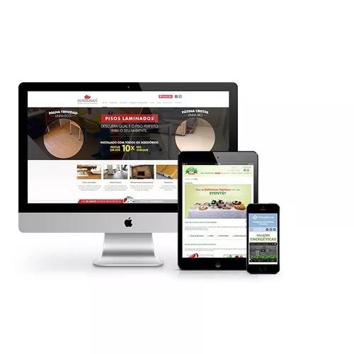 Criação de sites institucionais, responsivos e modernos