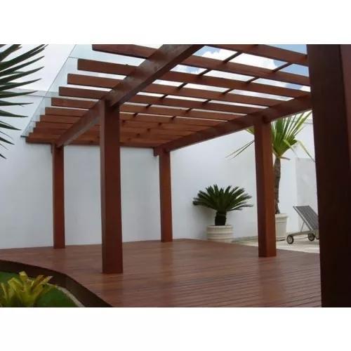 Decks pergolado e paisagismo. à partir de 350,00 m²