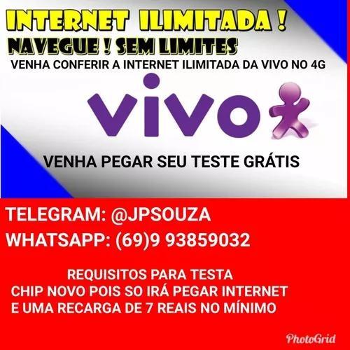 Internet 4g da vivo