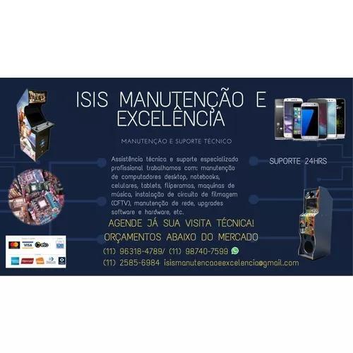 Isis manutenção e excelência. manutenção e suporte